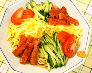 SPAM-recipes-Cold Chnese noodles