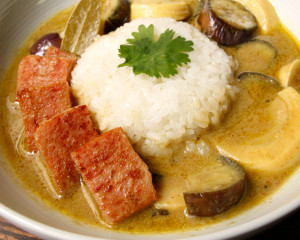 SPAM-recipes-Green-curry